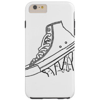 Canvas sneaker phone cover