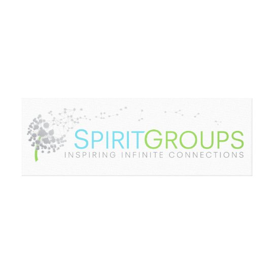 Canvas SpiritGroups Sign
