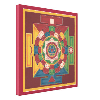 CANVAS SQUARE - Mandala of the 5 Elements