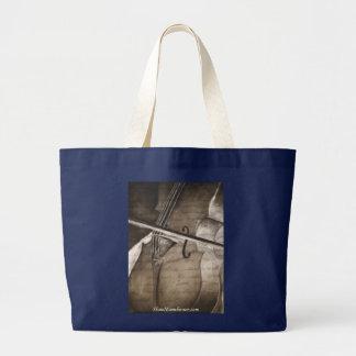 Canvas tote bag with Cello
