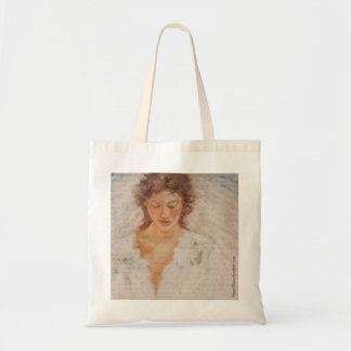 Canvas Tote With Angel