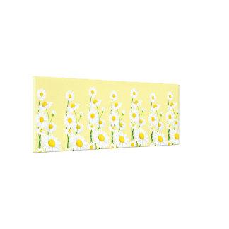 Canvas Wall Art-White Daisies