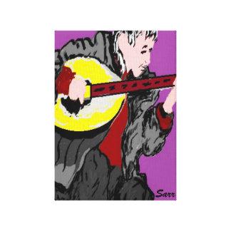 Canvas Wrap/ A Musician