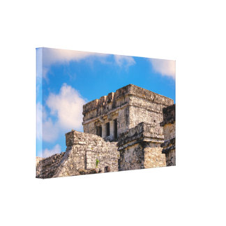 Canvas Wrap - Mayan Ruins - Tulum, Mexico