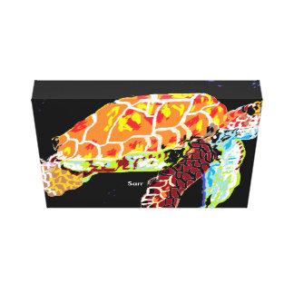 Canvas wrap Sea Turtle/ Sarr