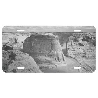 Canyon de Chelly Arizona by Ansel Adams License Plate