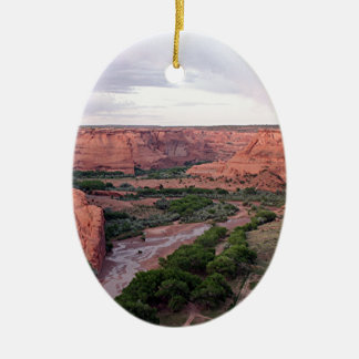 Canyon de Chelly, Arizona, Southwest USA 1 Ceramic Oval Ornament