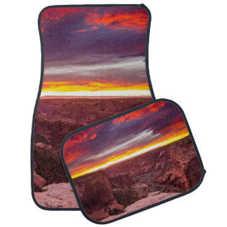 Canyon de Chelly, sunset, Arizona Auto Mat
