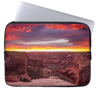 Canyon de Chelly, sunset, Arizona Laptop Sleeve