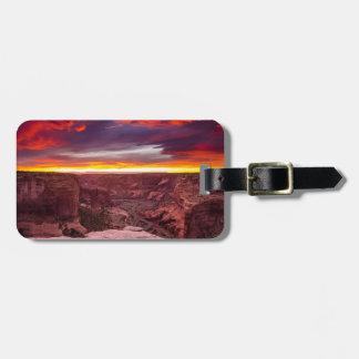 Canyon de Chelly, sunset, Arizona Luggage Tag