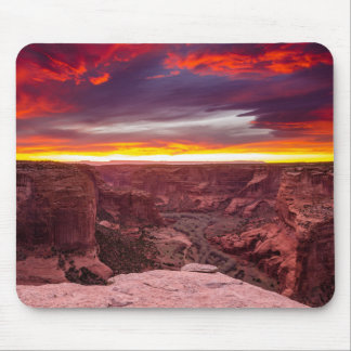 Canyon de Chelly, sunset, Arizona Mouse Pad