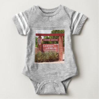Canyon de Chelly Visitor Center sign, Arizona Baby Bodysuit