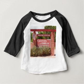 Canyon de Chelly Visitor Center sign, Arizona Baby T-Shirt