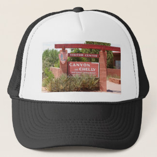 Canyon de Chelly Visitor Center sign, Arizona Trucker Hat