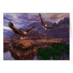 Canyon Flight Greeting Card