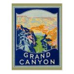 Canyon grand - voyage vintage cartes postales
