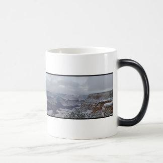 Canyon in Snow Magic Mug