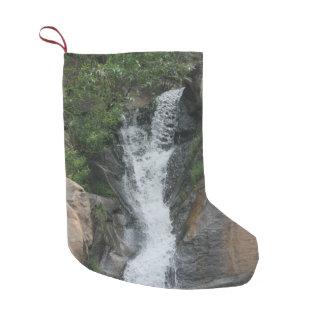 Canyon Waterfall Small Christmas Stocking