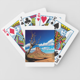 Canyon West Mitten Butte Monument Valley Bicycle Playing Cards