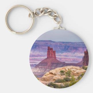 Canyonland Views Utah Keychain