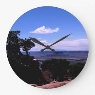 Canyonlands & LaSal Mountains Large Clock