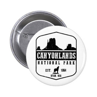 Canyonlands National Park 2 Inch Round Button