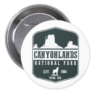 Canyonlands National Park 3 Inch Round Button