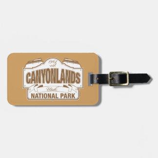 Canyonlands National Park Bag Tag