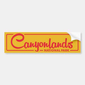 Canyonlands National Park Bumper Sticker