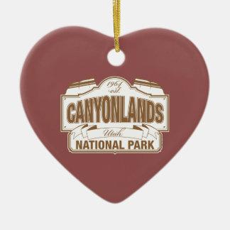 Canyonlands National Park Ceramic Ornament