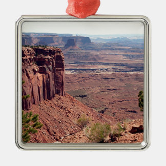 Canyonlands National Park, Utah, Southwest USA 4 Silver-Colored Square Ornament