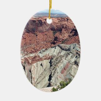 Canyonlands National Park, Utah, Southwest USA 5 Ceramic Oval Ornament