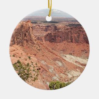 Canyonlands National Park, Utah, Southwest USA 6 Round Ceramic Ornament