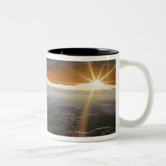 CANYONLANDS NATIONAL PARK, UTAH. USA. View Two-Tone Coffee Mug