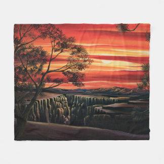 Canyonlands sunset blanket