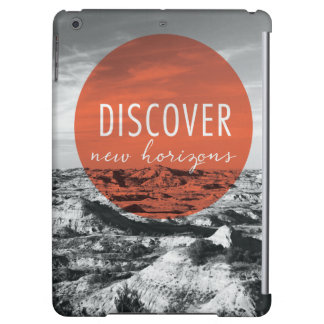 Canyons | Discover New Horizons Quote iPad Air Case