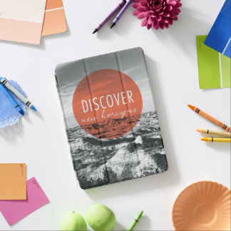 Canyons | Discover New Horizons Quote iPad Air Cover