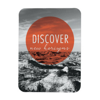 Canyons   Discover New Horizons Quote Magnet