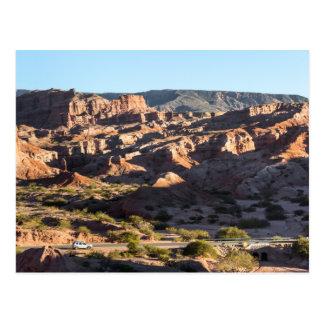 Canyons Of Salta Province Postcard