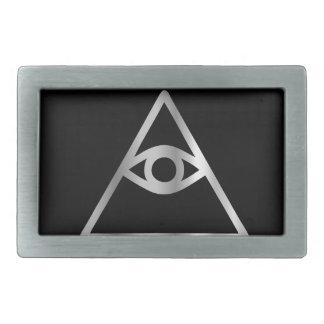Cao dai Eye of Providence- Religious icon Belt Buckle