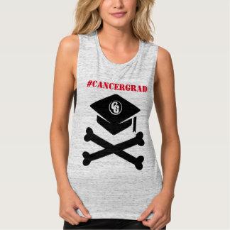 Cap and Crossbones #CancerGrad Tank
