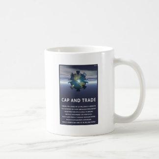 Cap And Trade Destroys Coffee Mug