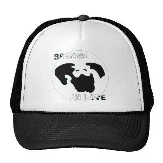 cap beards in love trucker hat