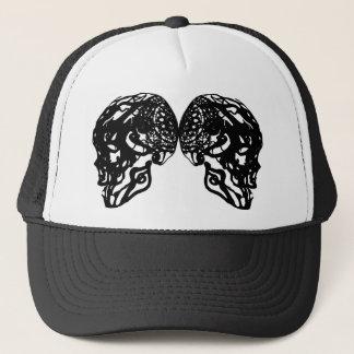 CAP BLACK SKULL 2