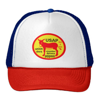 cap Catalan donkey and Rugby Trucker Hat