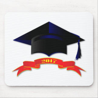 Cap Class Of 2017 Mouse Pad