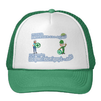 CAP DAY OF THE TÉC. E ENG. OF SECURITY OF THE WORK TRUCKER HAT