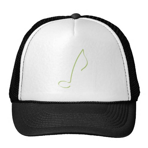 cap hat - music note (eighth)