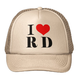 Cap I Love RD - Dominican Republic Trucker Hat