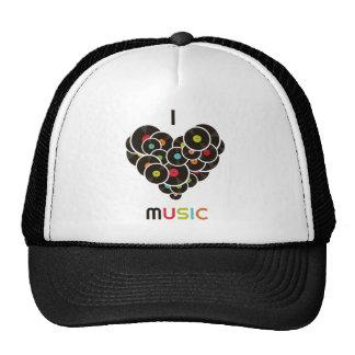 "Cap ""I music "" Trucker Hat"